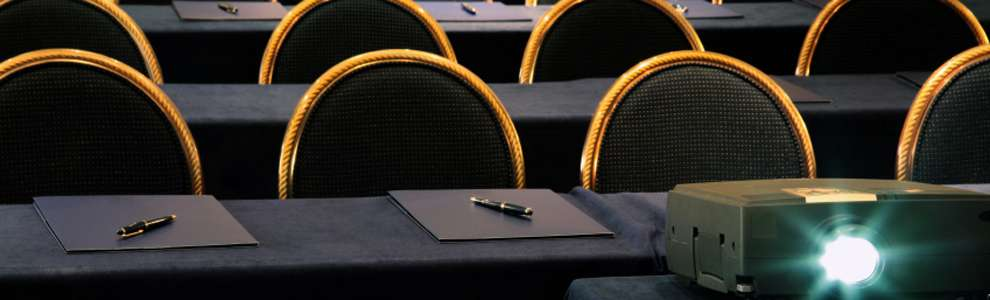 Conferences - Audio & Visual Aids - Emeco offers complete range of A/V equipment